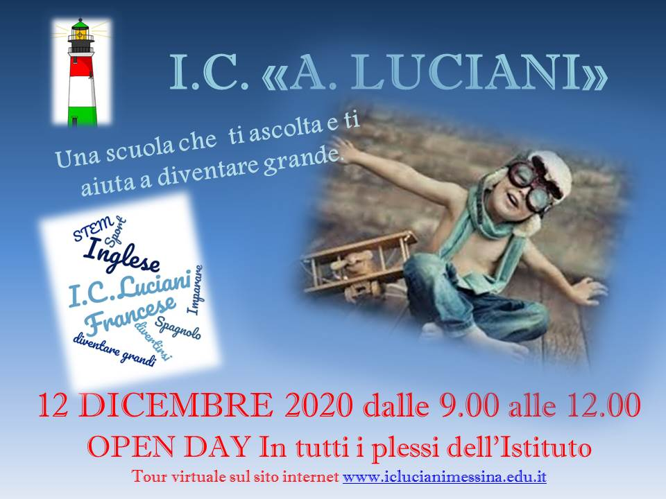 OPEN DAY VIRTUALE 2020